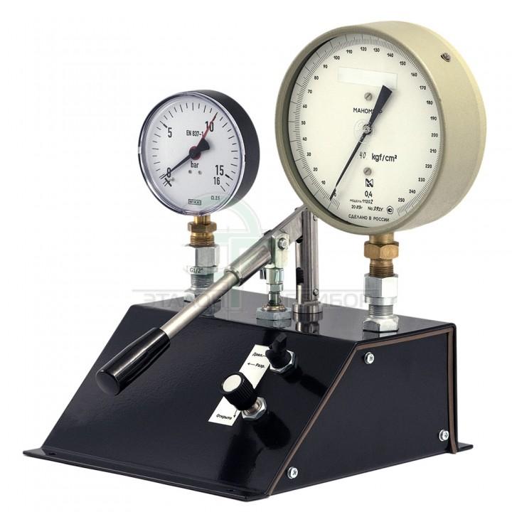 ПУСК - Пневматичний пристрій для порівняльного калібрування