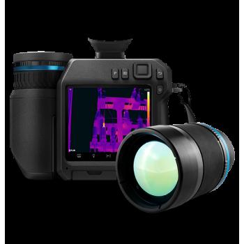 FLIR T840 w/24° & 14° & 42° Lens, 464x348, -20°C to 1500°C - Тепловизионная камера для визуализации утечек газа