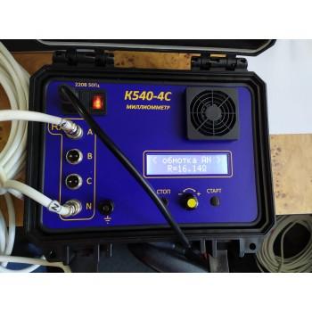К 540-4С - Измеритель электрического сопротивления обмоток трансформатора