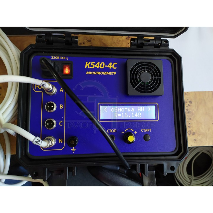 Измеритель электрического сопротивления обмоток трансформатора