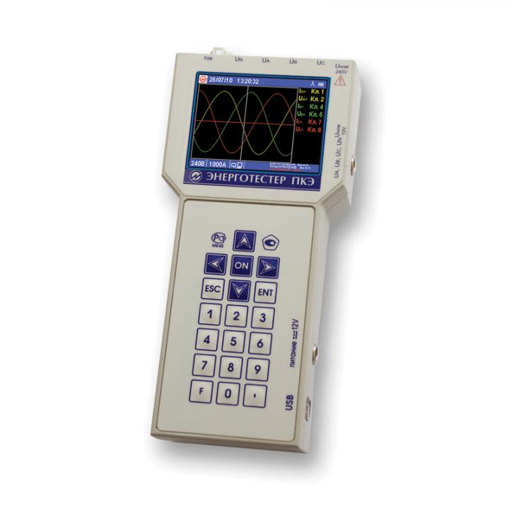 Энерготестер ПКЭ-А --- Приборы для измерения показателей качества электрической энергии и электроэнергетических величин