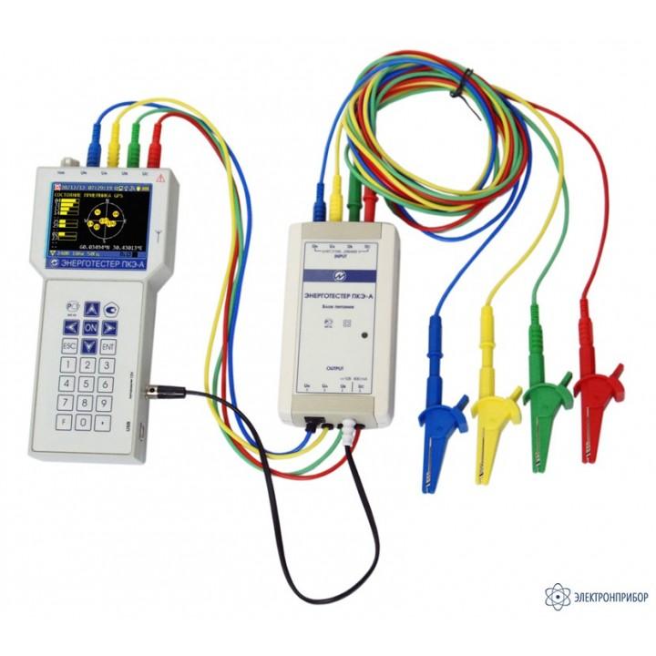 Енерготестер ПКЭ-А-С4 - Вимірювач показників якості електроенергії