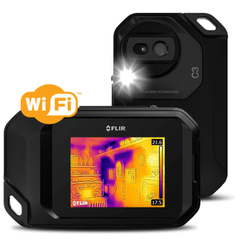 FLIR C3 WI-FI - Тепловізор для енергоаудиту