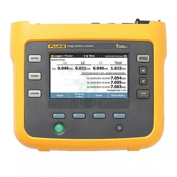 Fluke 1732 - Реєстратор якості електроенергії