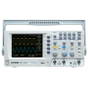 GDS-1052-U - Осцилограф цифровий, що запам'ятовує, з рідкокристалевим дисплеєм