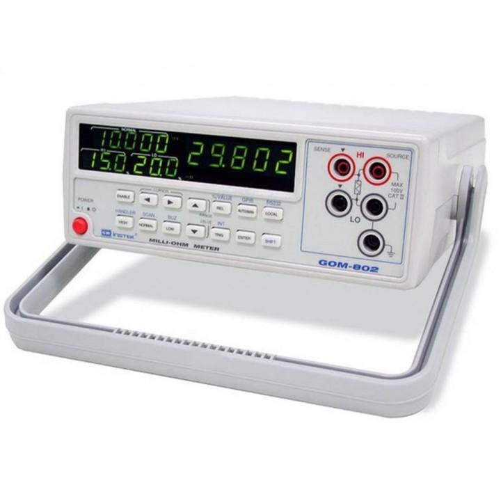 GOM-802+RS232C+GPIB - Mіліомметр цифровий