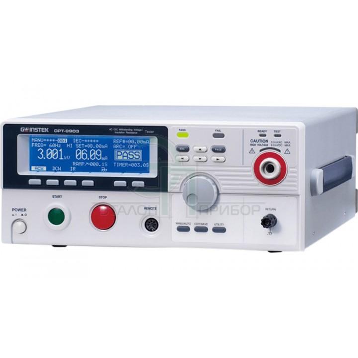 GPT-9903A - Установка для перевірки параметрів електричної безпеки