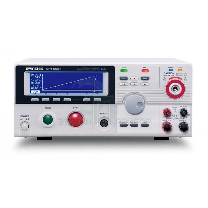 GPT-9904 - Установка для перевірки параметрів електричної безпеки