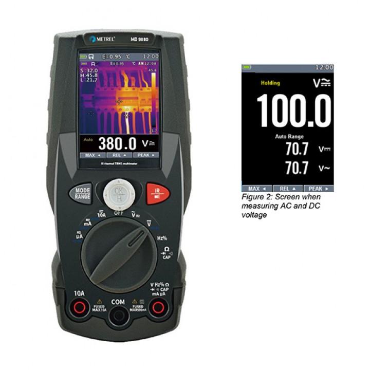MD 9880 TRMS - Мультиметр с функцией тепловизора
