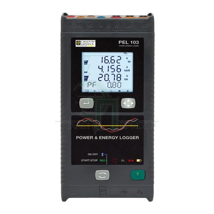 PEL 103 EXP - Реєстратор потужності та енергії
