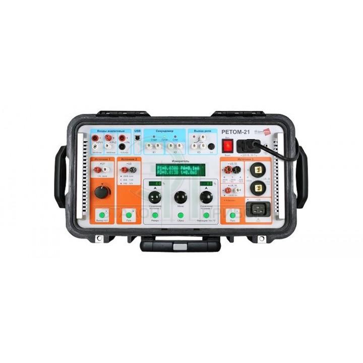 РЕТОМ-21 - Пристрій вимірювальний параметрів релейного захисту