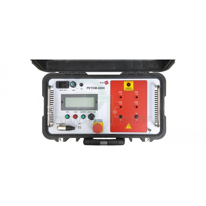 РЕТОМ-6000 - Пристрій вимірювальний електричної міцності і опору ізоляції