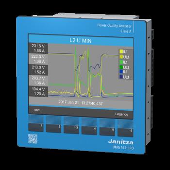 UMG 512-PRO - Аналізатор якості електроенергії