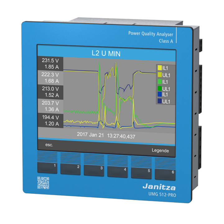 Аналізатор якості електроенергії