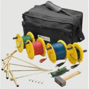 Комплекты для измерения сопротивления заземления и уделенного сопротивления грунта P01102024