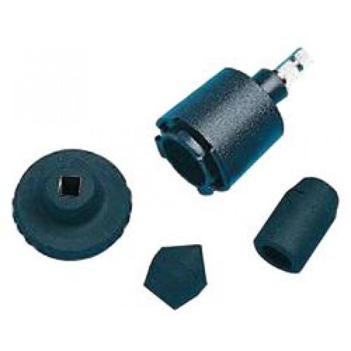 Комплект аксесуарів до тахометра (перехідник і 3 насадки)