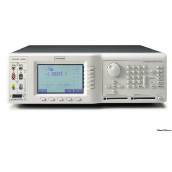 Fluke 9100 - Метрологическая поверка универсальной калибровочной системы (как рабочий эталон)