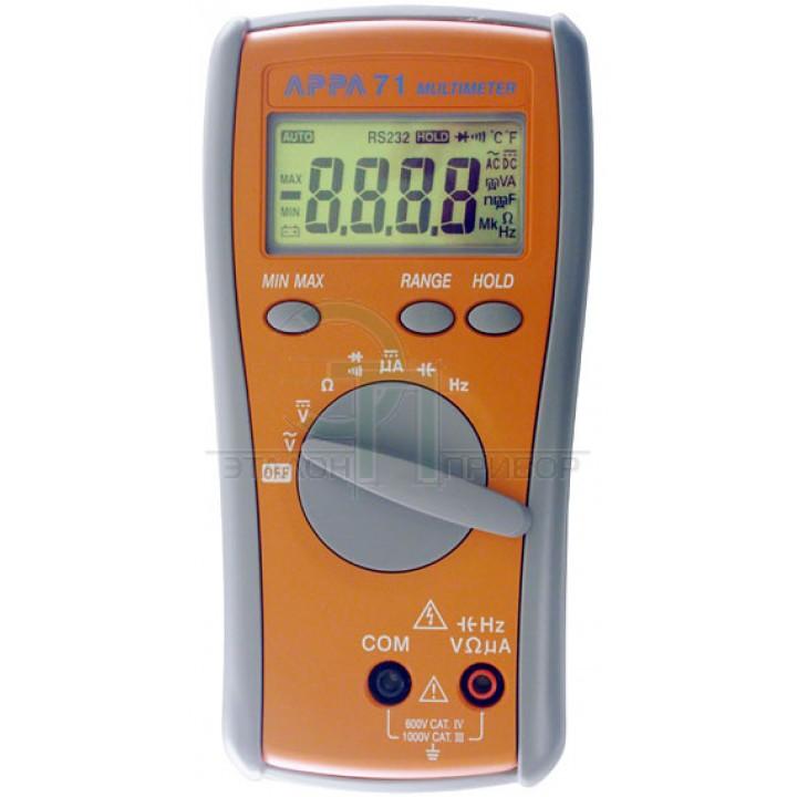 АРРА 305 (RS 232) Цифровой мультиметр