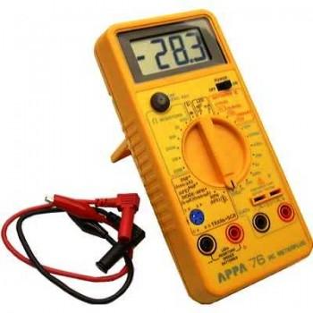 APPA 76 - Вимірювач RC-параметрів