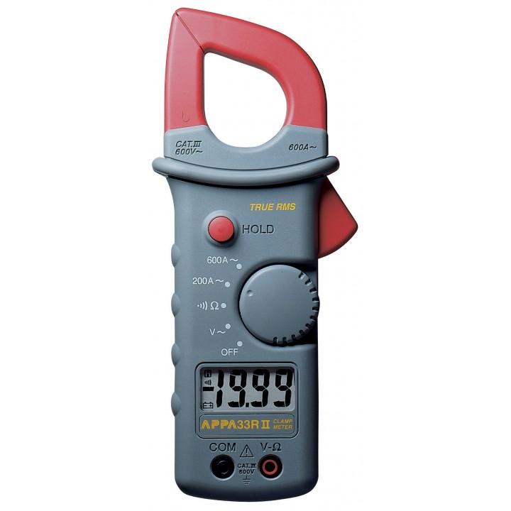 APPA 33RII - Кліщі електровимірювальні цифрові