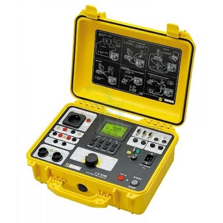C.A 6160 Установка для испытания параметров безопастности электрооборудования