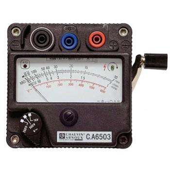 C.A 6503 - Мегаомметр