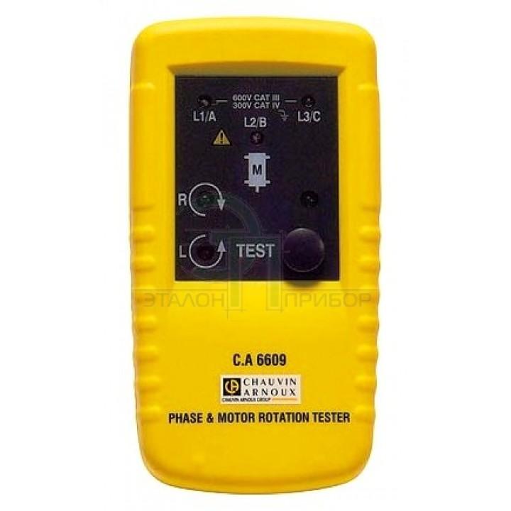C.A 6609 - Тестер чергування фаз