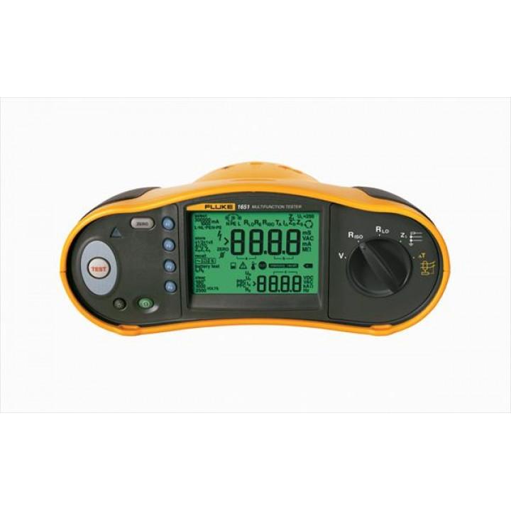 Fluke 1651 - Многофункциональный тестер электроустановок