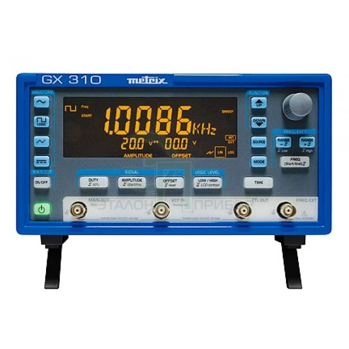 GX 310 Генератор - Частотомер