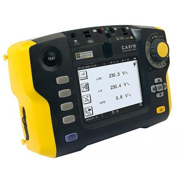 С.А 6116 Установка для испытания параметров безопастности электрооборудования