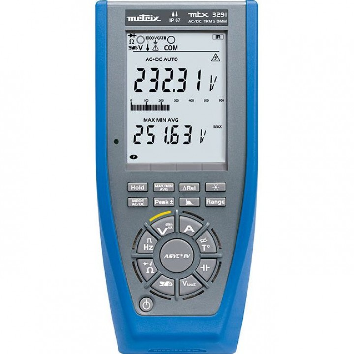 MTX 3291 Мультиметр цифровой графический