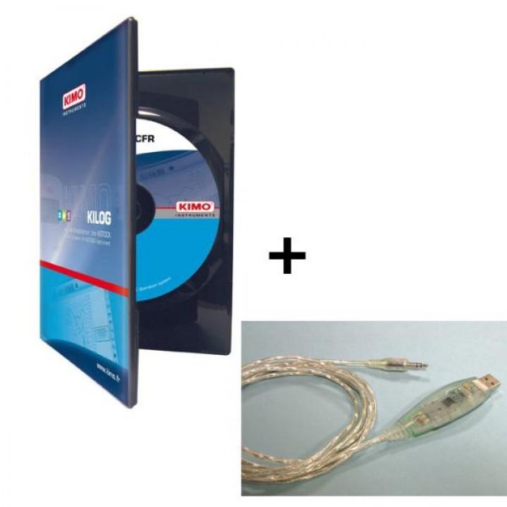 Комплект ПО и кабель USB